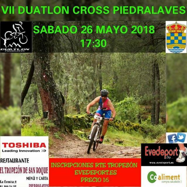 VII Duatlon Cross Piedralaves