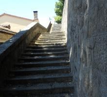 Piedralaves, Escalinata de la Iglesia