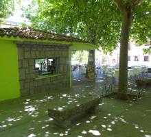 Piedralaves Kiosco del Parque Municipal