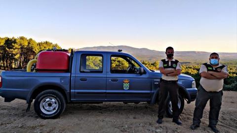 Guardas rurales para vigilar el monte en Piedralaves