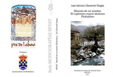 Nuevo libro sobre la historia del nombre de Piedralaves